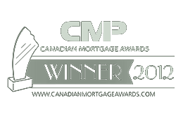 CMP Canadian Mortgage Awards Winner 2012